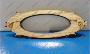 Бейджик из дерева форма на заказ